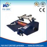FM-380c avec la machine froide et chaude de coupeur de roulis de chauffage de laminage