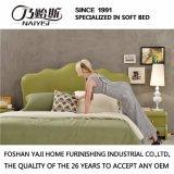 Кровать G7006 кожаный мебели спальни самомоднейшая