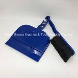 Recogedor de polvo plástico del diseño caliente de la venta con el cepillo para el suelo de la limpieza
