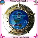 A polícia nova da alta qualidade Badge para o presente do emblema do exército do metal