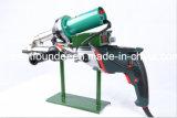 Máquina de soldadura expulsando plástica do injetor da soldadura da tubulação do HDPE