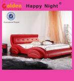 [مد-ين] الصين سرير إطار برغي, جلد سرير [غ929]