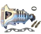 01-05 1.7L L4 Sohc를 위한 Honda Civic W 촉매 컨버터를 위한 배출 다기관 적합