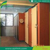 HPLの物質的な浴室のキュービクルのドア