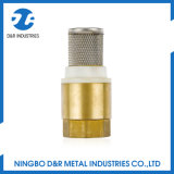 Dr. 6003 válvula de verificação com engranzamento do aço inoxidável