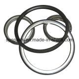 シールのグループか浮かぶか、またはデュオの円錐形の金属の表面ドリフトのリングまたはリング