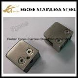 Clip de cristal de la abrazadera de cristal del acero inoxidable 304 para el pasamano