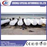 Customized 3 eixos Q235B do tanque de óleo combustível semi reboque Fabrico