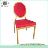 Métal rouge de meubles de café de restaurant dinant la présidence (JY-T31)