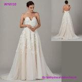 Späteste Entwurfs-Sleeveless Braut-Kleid-neue Art-reizvolles Spitze-Hochzeits-Kleid