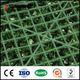 La Chine fournisseur PE Plastique vert synthétique mur pour l'utilisation de l'hôtel
