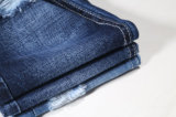 Cross Hatch Slub 100% Algodão Denim Fabric11.4oz