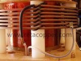 Plombieren des verwendeten Qualitäts-Kupfer-Rohres