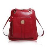 Senhora Mala de viagem de couro Bolsa Escola Desinger mochila da marca de moda