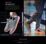 Los zapatos más nuevos del deporte del hombre caliente LED del cordón