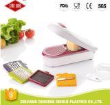 台所機器の5つの刃が付いている手動スマートな野菜ポテトチップメーカーのチョッパーのシュレッダーのスライサーDicer