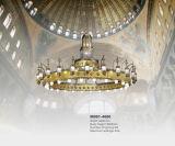 Het hotel steekt de Kroonluchter van de Moskee van de Arabisch-Stijl van het Project (aan M001-4000)