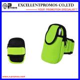 Le fonctionnement extérieur promotionnel folâtre le sac de téléphone de bras du néoprène (EP-NB1618)