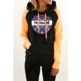 2016 осень и свитер зимы новый конструированный напечатанный с капюшоном с карманн (80022)