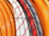 Tuyau de pulvérisation en PVC pour l'agriculture, Knitting Wih Double fil de polyester (PVC SPRAY HOSE)