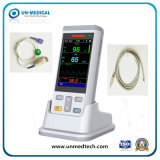 Dispositivo médico o oxímetro de pulso portátil Monitor de Sinais Vitais com USB+SpO2