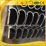 Precio de aluminio anodizado fuente de la fábrica por la barandilla oval de la dimensión de una variable de la protuberancia de aluminio del kilogramo