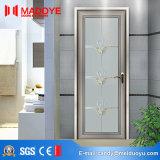 Puerta moderna del cuarto de baño del metal del estilo de la decoración casera con diseño de la parrilla
