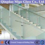 Замороженное Toughened стекло балюстрады используемое на балконе или лестнице