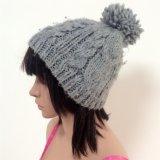 100% Island-Wollen, handgemachte Form-gewirkte Hüte mit Dekoration