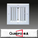 traliewerk van de de leveringsairconditioning van de aluminium het regelbare dubbele afbuiging met de demper van OBD