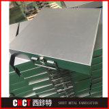 Caja de herramientas de metal de alta calidad por encargo de la hoja