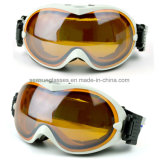 Beschermende brillen van Snowboard van de Ski van de Douane van het Embleem van Ce van Eyewear van de Sneeuw van Nice van de Stijl van China de Nieuwste Standaard