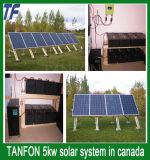 Systeem van de Module van het Systeem van de Macht van het huis het Zonne5kw Zonne