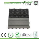 60 * 30cm WPC Decking Tiles Factory Price Madeira Plástico Composto Varanda DIY Tiles
