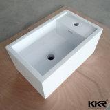 L'uomo della fabbrica della Cina ha preparato la resina di pietra murare il lavabo appeso (B170928)