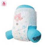 Pañal respirable fino estupendo impreso venta caliente del bebé del Adl del azul