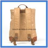 Saco ocasional de papel material novo personalizado fábrica da trouxa de Du Pont, saco de ombro dobro de papel de Tyvek da promoção com correia ajustável