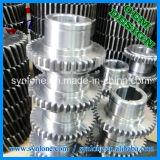 プロセス鋼鉄ギヤを機械で造るCNC