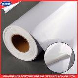 Cola branca de PVC imprimível Vinil auto-adesiva