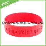 Kundenspezifisches Silikon-Armband für Förderung