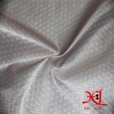 50d poliéster grabado en relieve tela impermeable para la ropa / chaqueta