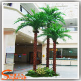 Prix concurrentiel artificiel en plastique Feuille de palmier Fan Costume Arbre