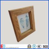 Cornice di legno della parete/blocco per grafici della foto