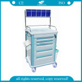 AG-At005b1 avec cinq tiroirs et un véhicule central d'hôpital de casier