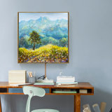 Photos de montagnes Peinture à l'huile de paysage mural