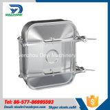 470mm*760mm AußenEdelstahl-rechteckiger Einsteigeloch-Deckel mit Druck