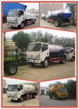 Camión Cisterna 6000liters Isuzu combustible, petrolero, Bowser combustible montado en un camión dispensador