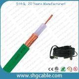 Câble coaxial de liaison de Mil-C-17 Kx8 avec du ce RoHS