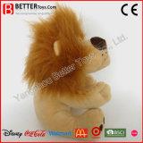 연약한 장난감은 아이를 위한 야생 동물 견면 벨벳 장난감 사자를 채웠다