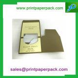 Kundenspezifischer Luxuxduftstoff-faltender Papierkasten mit Fenster